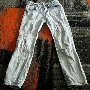 Lucky brand girls distressed jeans